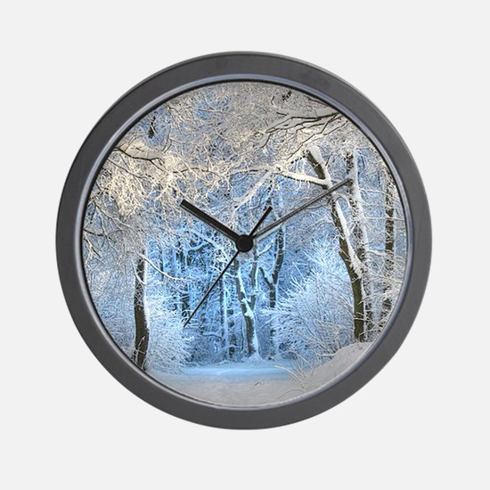 Another Winter Wonderland Wall Clock