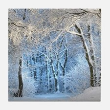 Another Winter Wonderland Tile Coaster