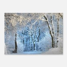 Another Winter Wonderland 5'x7'Area Rug