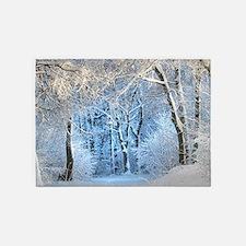 Another Winter Wonderland 5'x7'Area Rug