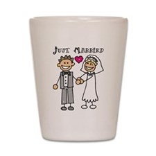 married4.png Shot Glass