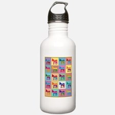 Pop Art Democrat Donke Water Bottle