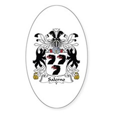 Salerno Oval Decal