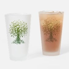 yoga157.png Drinking Glass