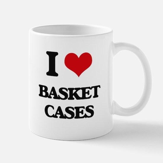 I Love Basket Cases Mugs