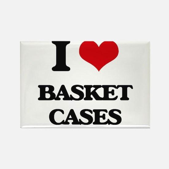 I Love Basket Cases Magnets