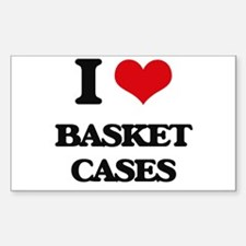 I Love Basket Cases Decal