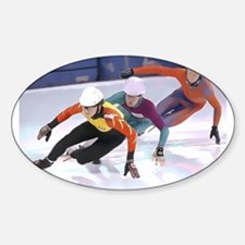 Short Track Speed Skaters Decal