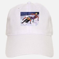 Short Track Speed Skaters Baseball Baseball Cap
