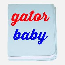Gator Baby baby blanket