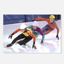 Short Track Speed Skaters Postcards (Package of 8)