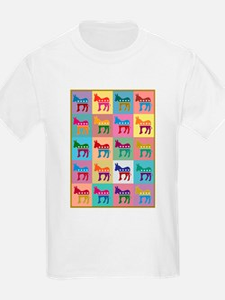 Pop Art Democrat Donkey T-Shirt