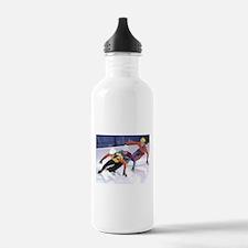 Short Track Speed Skat Water Bottle