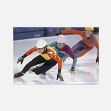 Short Track Speed Skaters Magnets