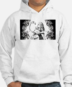 Flamingo Alice Swirls Hoodie Sweatshirt