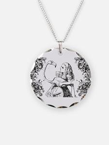 Flamingo Alice Swirls Necklace