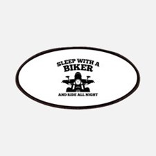 Sleep With A Biker And Ride All Night Patches