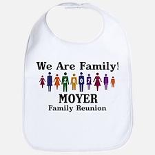MOYER reunion (we are family) Bib