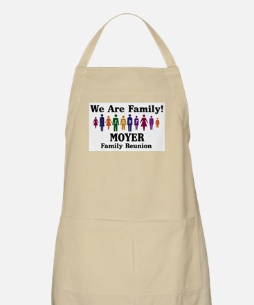 MOYER reunion (we are family) BBQ Apron