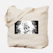 Alice Swirls Tote Bag