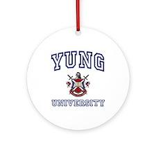 YUNG University Ornament (Round)