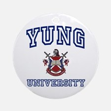 YUNG University Ornament (Round)