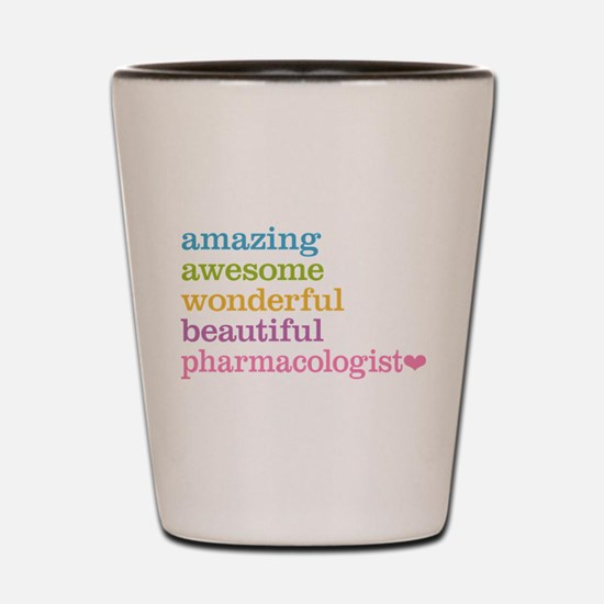 Pharmacologist Shot Glass