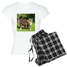 norwegian forest cat full tabby Pajamas