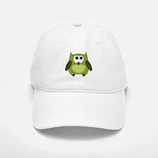 Owl (green) Baseball Baseball Cap
