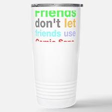 Unique Helvetica Travel Mug