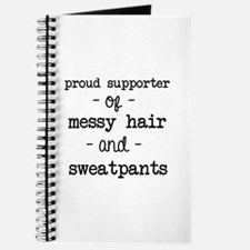 Messy Hair & Sweats Journal