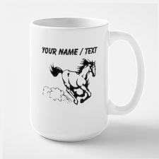 Custom Horse Galloping Mugs