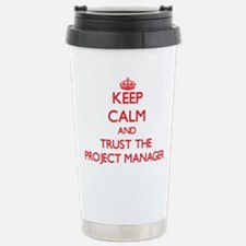 Cute Project manager certification Travel Mug