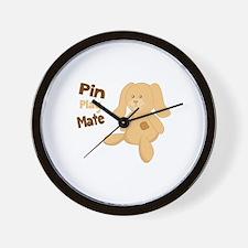 Pin Play Mate Wall Clock