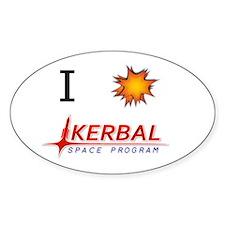 I Love KSP Decal