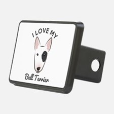 I Love My Bull Terrier Hitch Cover