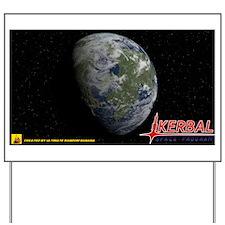 Kerbin KSP Yard Sign