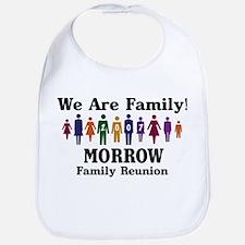MORROW reunion (we are family Bib
