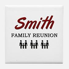 Smith Family Reunion Tile Coaster