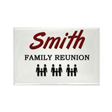 Smith Family Reunion Rectangle Magnet