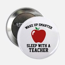 """Wake Up Smarter 2.25"""" Button"""