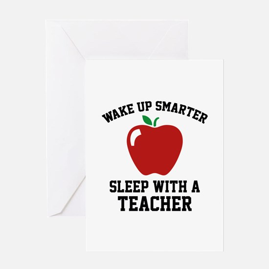 Wake Up Smarter Greeting Card
