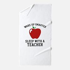 Wake Up Smarter Beach Towel