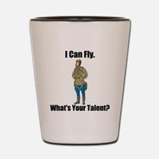 I Can Fly Shot Glass