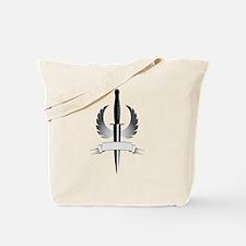 Winged Dagger Tote Bag