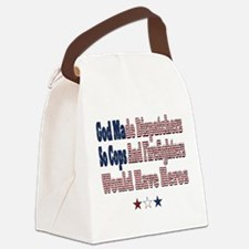Hero Dispatchers Canvas Lunch Bag