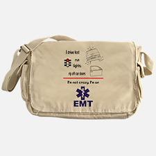 Not Crazy EMT Messenger Bag