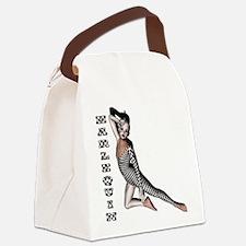 Harlequin Framed Panel.png Canvas Lunch Bag