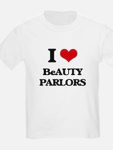 I Love Beauty Parlors T-Shirt