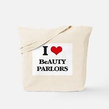 I Love Beauty Parlors Tote Bag